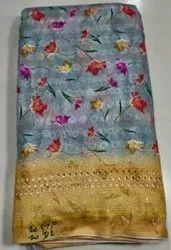 Cotton Chikan Fabric