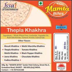 Thepla Khakhra, Packaging Type: Vacuum Pack