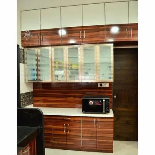 Wooden Plywood Kitchen Cabinet Size Dimension 6 7 Feet Height