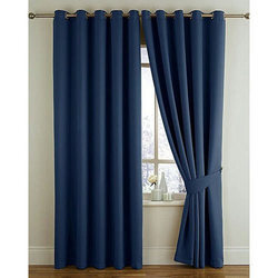 Plain Silk Designer Curtain