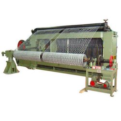 Mild Steel Chikan Wire Netting Machine, Production Capacity: 701-800  kg/shift, Rs 200000 /set   ID: 22173152048