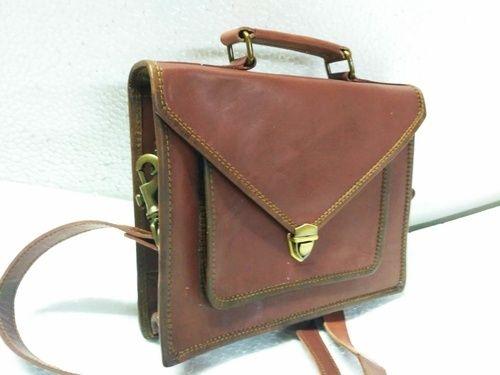 f277c9dde973 Brown HV Veg Leather Office Shoulder Bag