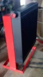 Steel Air Cooled After Cooler, For Industrial, Capacity: 350 Cfm