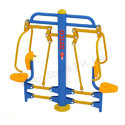 Outdoor Gym Equipment Metco Chest Press Chair (Double) 9124
