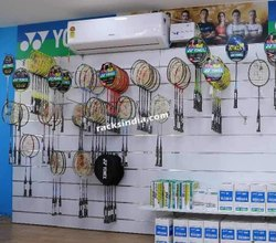 Badminton Racket Display For Sports Stores
