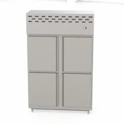 Parth Stainless Steel Four Door Refrigerator For Kitchen, Capacity: 700- 1200 Ltr