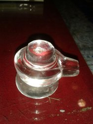 Natural Clean & Clear Crystal Shivling