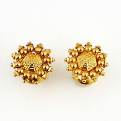 Gold Baby Studs