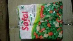 Frozen mix Vegetables, Packaging Size: 500 G