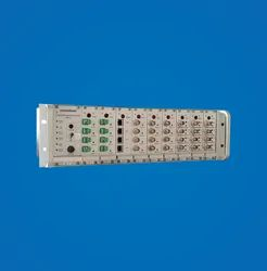 Masibus Stainless Steel Time Distribution Rack, for Switches, Dimension: 133 (h)x483(w)x260(d) Mm