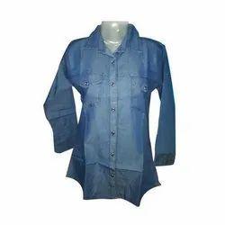 Ladies denim shirts