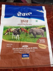 Verka Cattle Feed Bags- 25 kgs Customized Bags