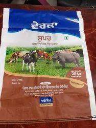 Verka Cattle Feed Bags- 25 kgs Customized Bags