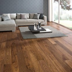 Polished Modern Wooden Flooring, Thickness: 2-10 Mm