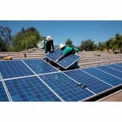 Home Rooftop Solar Power Plant Installation Service