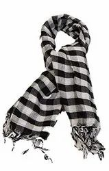 Ladies Cotton Check Scarf