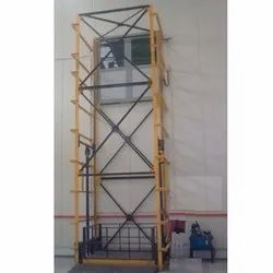 Double Mast Hydraulic Goods Lift