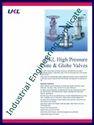 UKL High Pressure Gate and Globe Valves