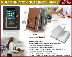 Notebook Diary H-1050