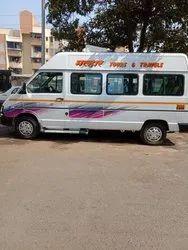 15 Seater Tata Winger Traveller Rental