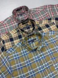 Full Check Semi Formal Shirts