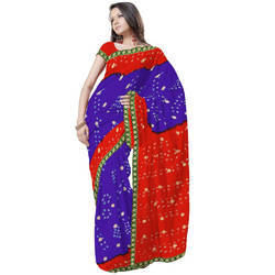 Ethnic Exclusive Chiffon Saree 182