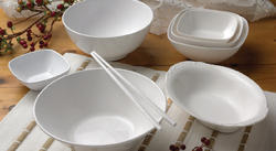 Superware White Melamine Bowls, Size: 3 inches