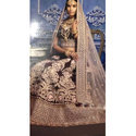 Stylish Semi-stitched Wedding Wear Bridal Lehenga, Packaging: Plastic Bag