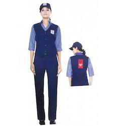 Club HP Petrol Pump Female, Waist Coat, Shirt With All Logo