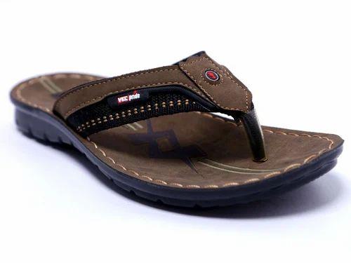PU VKC Mens Lightweight Slippers, Size