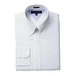 Cotton Formal Check Shirt, Size: S-XL