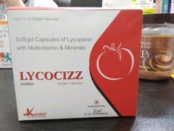 Softgel Capsules of Lycopene With Multivitamin & Minerals