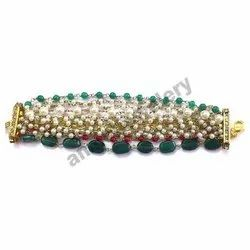 Multi Color Pearls Bracelet