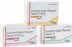 COMBAC - 20/30/40/60 (Duloxetine Gastro Resistant Tablets I.P)