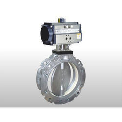 Pneumatic Cement Butterlfy Valve