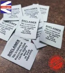Woven Name Labels for Clothing