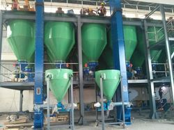 Welding Flux Batching System
