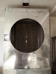 Steel Air Cooler Body Frame