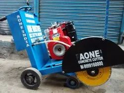 Concrete Cutting Machine With Greaves Diesel Engine 5HP