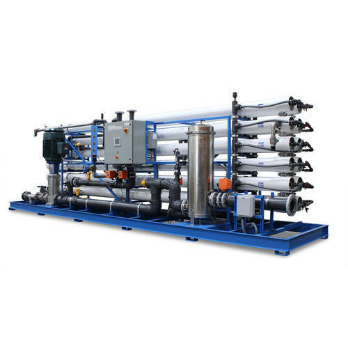 MS Automatic Commercial Electric Reverse Osmosis Plant, 1 Ton
