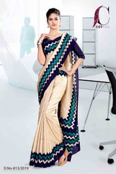 Ladies Uniform Saree