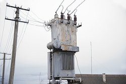 Three Phase Transformer repainting