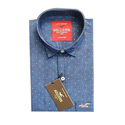 Small & Large, Cotton, Mens Dotted Shirt