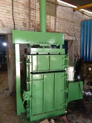 Semi Automatic PET Bottles Baling Press