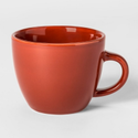 Red Plain Ceramic Tea Cup, Packaging Type: Box, Capacity: 150 Ml