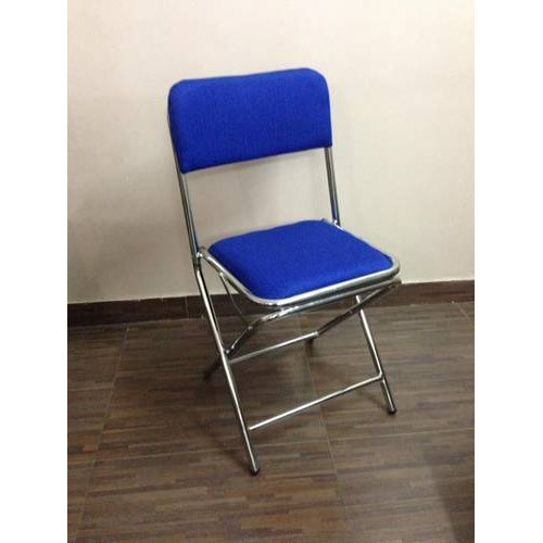Yes Black SS Folding Chair, Size: 18 Inches, for Home