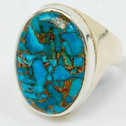 Blue Turquoise Rings