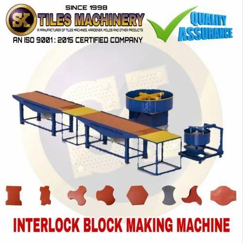 Interlocking Tile Making Machine - Interlocking Tile