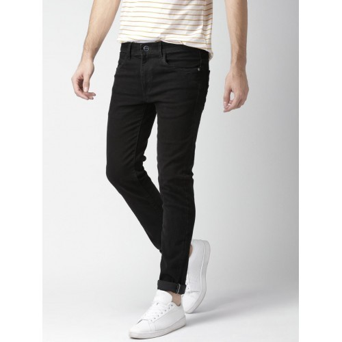 004079afd6 Blue Plain Mens Black Skinny Jeans, Yes, Rs 750 /piece, Zyker Sales ...