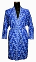 Indigo Blue Dressing Gowns Bathrobes